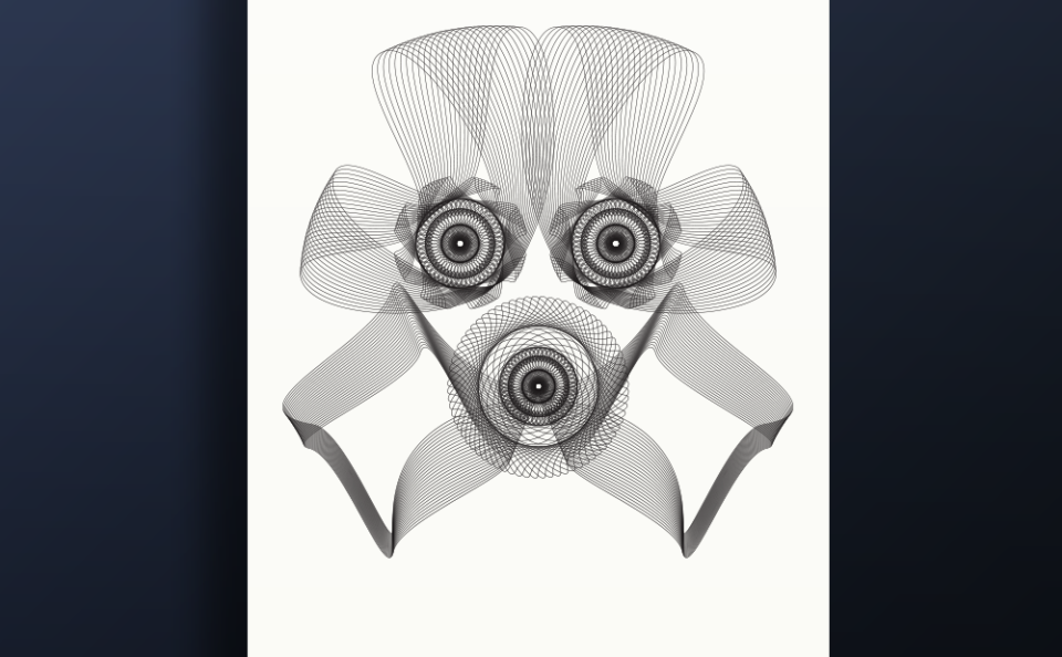 Strooper Spirograph Faces