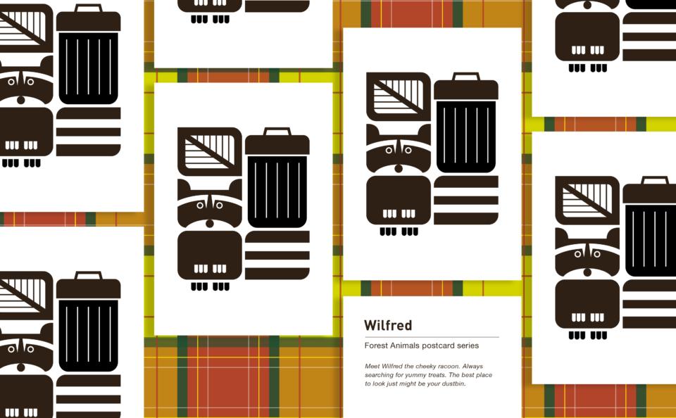 Postcard Wilfred